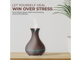 Buy Electric Aroma Diffuser Oil Ultrasonic Cool Mist Humidifier