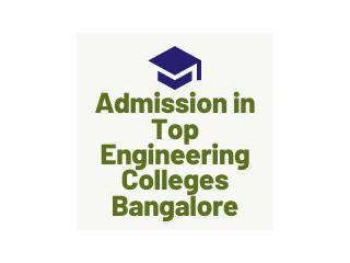 Admission at Bangalore